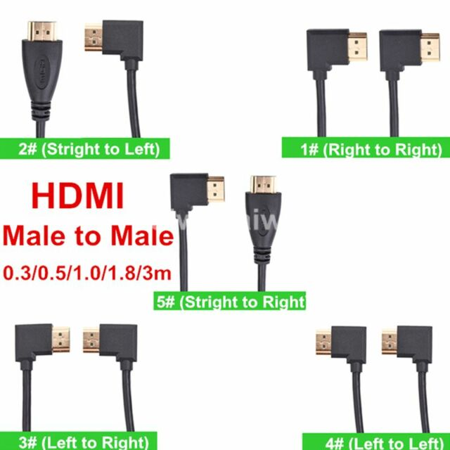 30-300cm HDMI 1.4 Male to Male High Speed Cable Plug 1080P 3D For PC HDTV XBOX