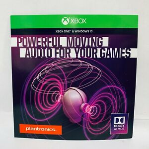 Details about Plantronics Dolby Atmos [Code Only] Access Lets You  Experience for Xbox & Win 10