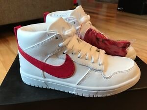 reputable site e8459 29bee Image is loading Nike-NikeLab-Dunk-Lux-Chukka-RT-Riccardo-Tisci-