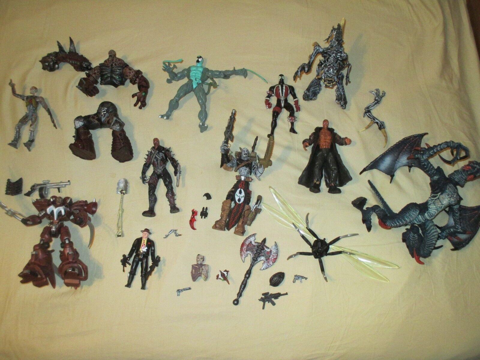 Lot de 10  SPAWN Todd McFarlane action figures SPAWN DEMONS Monstres  magasin de gros