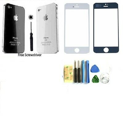 Replacement Back &Front screen for iPhone 4 4S Rear Battery Cover Case