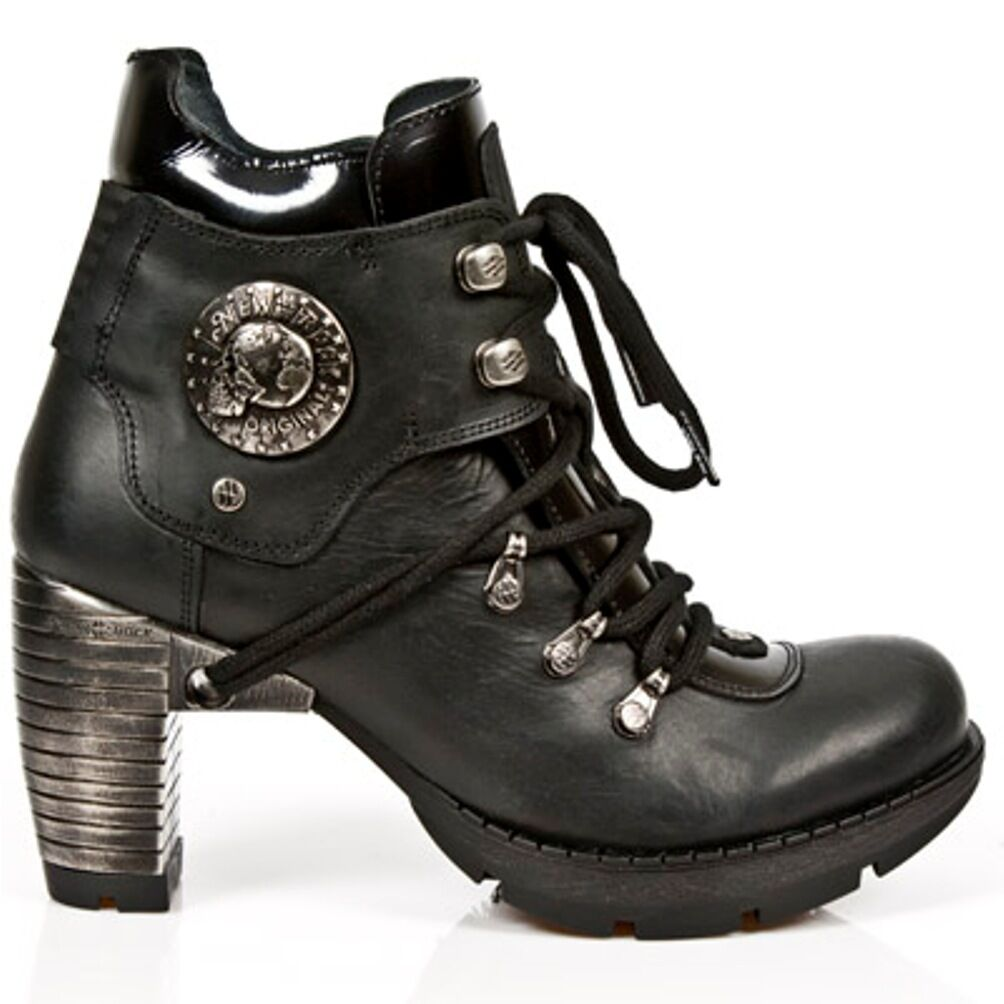 New Rock Boots women Punk Gothic Gothic Gothic Bottes - Style TR010 S1 black 33e960