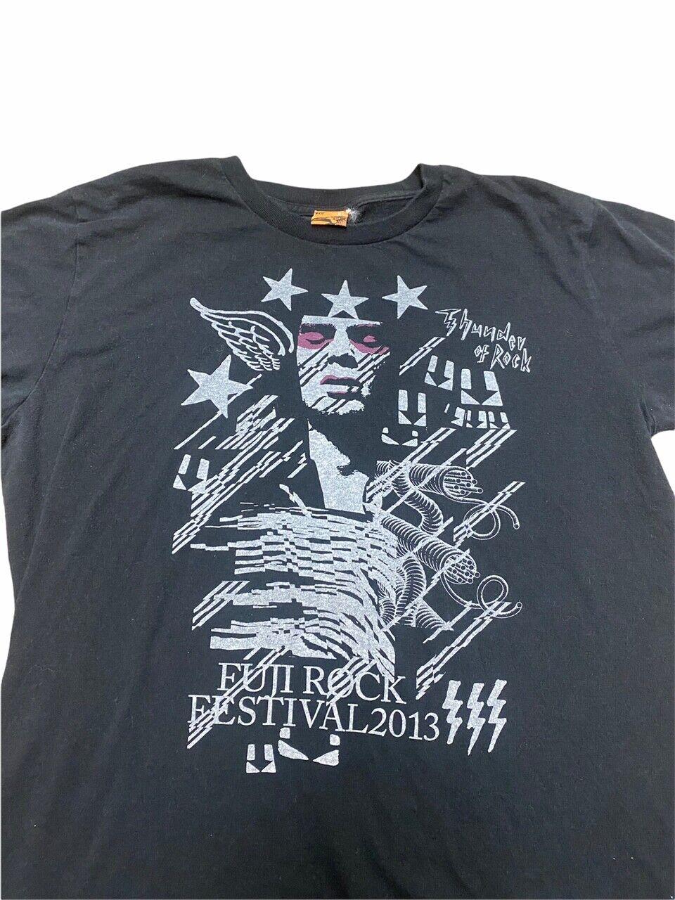 Fuji Rock Festival 2013 Black Extra Large XL T-Sh… - image 2