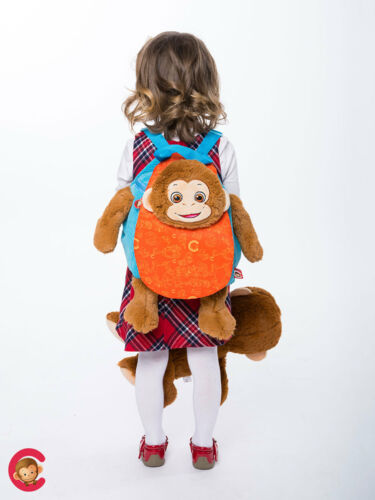 Official Personalised Cubbies Backpack  Penguin or Monkey or Dragon or Unicorn