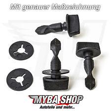4x staffe di montaggio clip BULLONI DISCO + per Audi VW 6q0807643 6n0129355