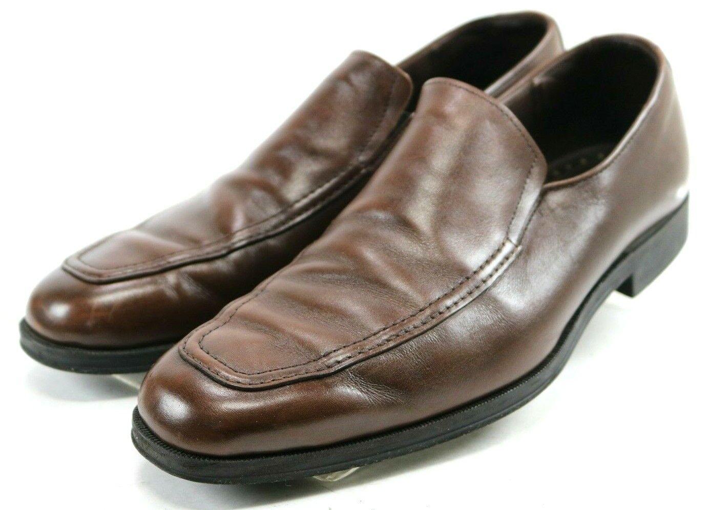 Allen Edmonds Bucktown  150 Men's Dress Loafers Size 8 Leather Bown