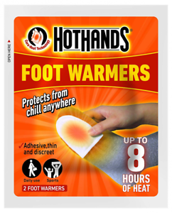 Hot Hands Foot Warmers 6 pairs