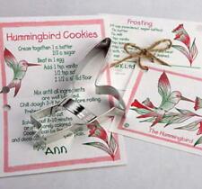 2 ANN CLARK~HUMMINGBIRDS~ tin cookie cutter~MADE IN USA (NEW) SALE!