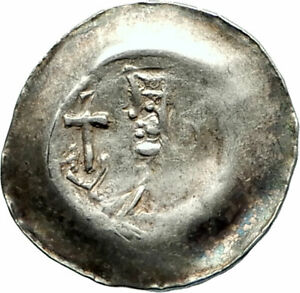 1100-1300AD-FRANCE-Medieval-COLOGNE-Koln-Antique-Silver-French-Coin-i74603