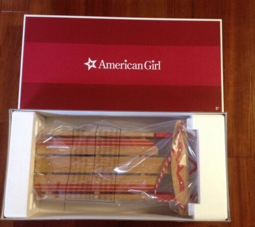 American Girl Emily Sled RETIRED New in Box NIB Molly Kit Ruthie Grace Isabelle