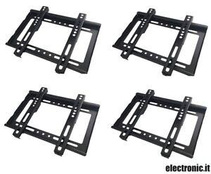 Soporte de Pared Para TV LED LCD 14-42'' Fijo - (4 Soportes)