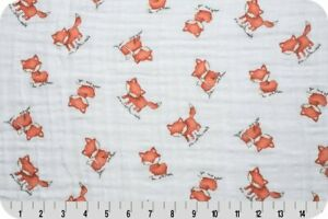 Shannon-Fabrics-Embrace-Double-Gauze-Red-Fox-bty-or-custom-cut