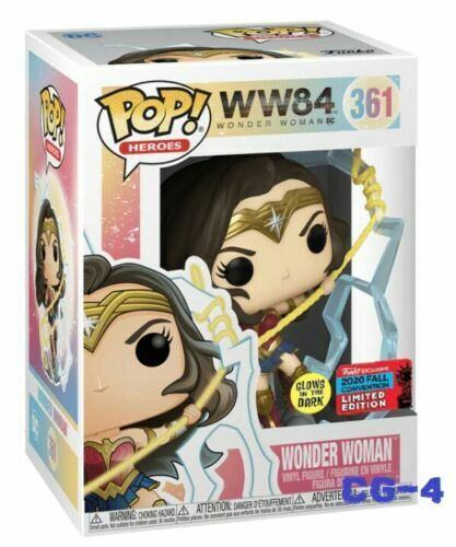 DC PROTECTOR Wonder Woman Glow Funko Pop Vinyl  NYCC SHARED 2020 PRE-ORDER