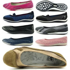 Ballerina Colourful Pumps uk8 Loafers Ladies Comfy Uk3 Leather Lightweight CFnxX5wzvq