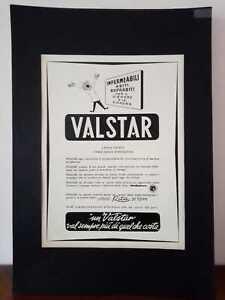 Pubblicita-originale-VALSTAR-anni-039-50-rifilatura-da-rivista-in-passepartout