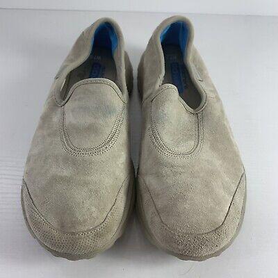 skechers suede go walk shoes