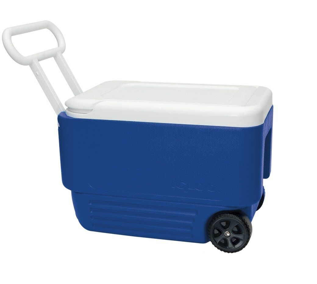 Igloo 38-Quart Portable  Outdoor Camping Wheelie Cool Ice Cooler  after-sale protection