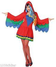 Déguisement Femme Perroquet XS/S 36/38 Costume Animal Adulte Dessin Animé