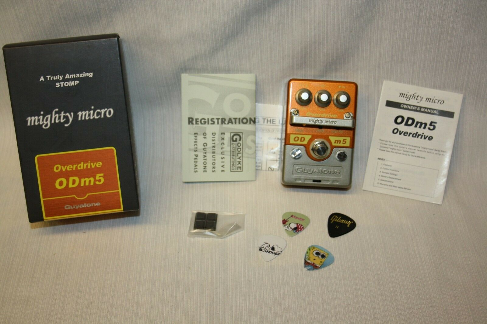 Guyatone ODm5 OVERDRIVE USED GUITAR EFFECTS PEDAL