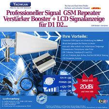 1500m2 GSM 900MHz Repeater Handy Verstärker Booster LOG +20dbi Antenne T-Mobile