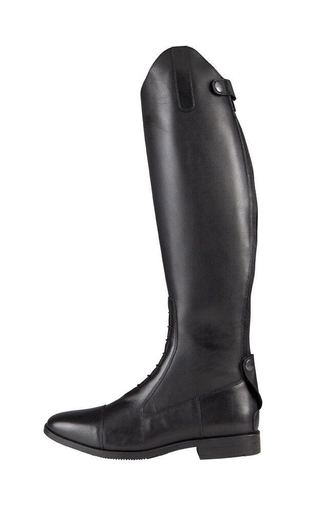 Lederstiefel schwarz Nidau Pfiff schwarz Lederstiefel verschiedene Größen NEU a978fa