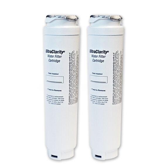 2 x Bosch 644845 UltraClarity Fridge Water Filters 9000-077104