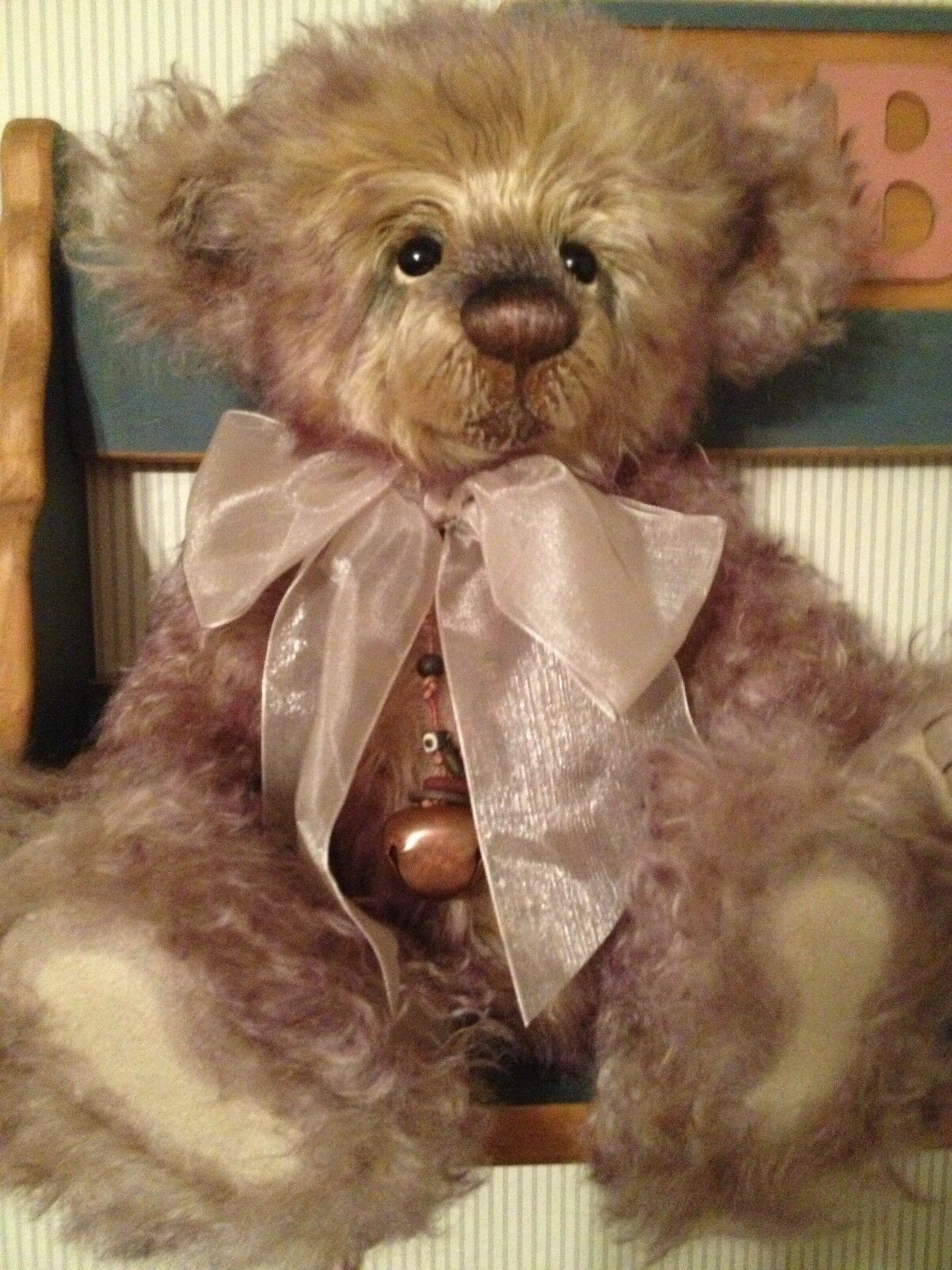 Charlie Bears ARTIO 2012 Isabelle Mohair Collection FREE US SHIP
