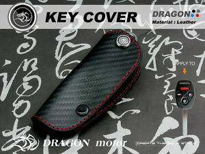 Leather Key fob Holder Case Chain Cover FIT For HONDA 2M2 k12 CIVIC8 CR-V3 131B