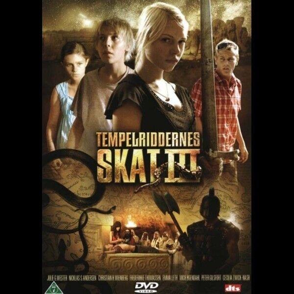 Tempelriddernes skat 3, instruktør Børn på eventyr, DVD