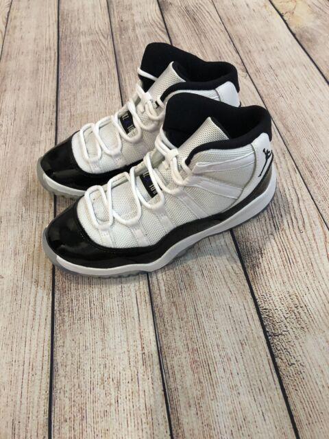 Nike Air Jordan 11 Retro (ps) Concord White Black 45 Dark PS 378039-100 Size 1y