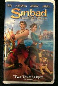 SINBAD~LEGEND OF THE SEVEN SEAS~VHS, 2003~PITT, ZETA-JONES ...
