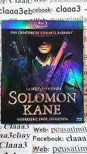 Blu-ray + DVD ITA - SOLOMON KANE - Guerriero, eroe leggenda- james purefoy