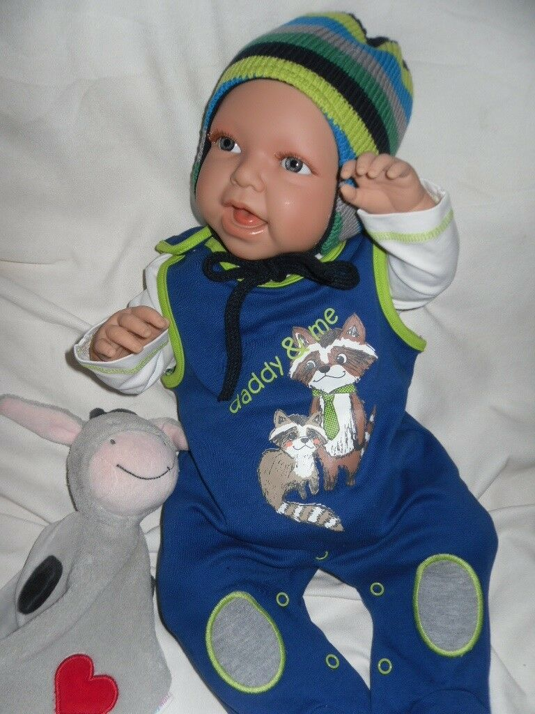 NUOVO traumdolls Doro Dolls Baby Bambola Louis 52 cm GIOCO BAMBOLA BAMBOLE BABY
