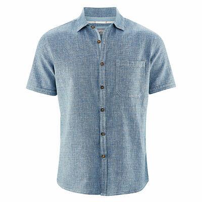 HempAge Herren Kurzarm Hemd lässig geschnitten HanfBio Baumwolle | eBay