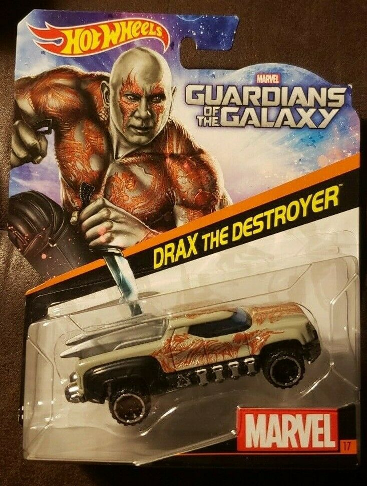 Hot Wheels 1:64 Scale by Hot Wheels Guardians of the Galaxy Drax the Destroyer #17 Marvel Character Car