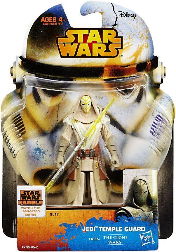 Star Wars The Clone Wars Saga Legends 2018 protector del Templo Jedi Figura de Acción SL17
