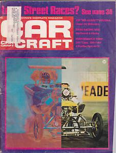 Car craft magazine joe hrudka drag racing august 1970 free for Car craft magazine back issues
