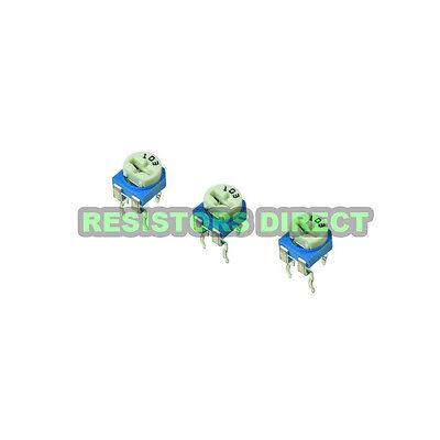 10pcs 10K Ohm Variable Resistor Horizontal Trimpot Trimmer Potentiometer 103 D11