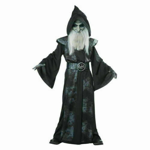 Youth Boy or Girl Costume -Complete Wicked Wizard Costume Sz X-Large (12-14) New