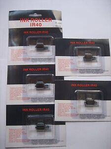 5-x-Pieces-CP-13-Ink-Roller-Noname-for-IR40-Gr-744-Casio-110CR-116ER