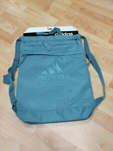 66e2056e2ffa Image is loading adidas-Amplifier-Blocked-Sackpack-All-Gray-Everyday- Backpack-