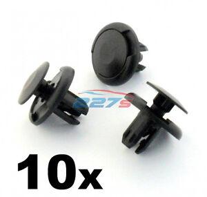 856553 10x VVO/® Fasteners Front Wheel Arch Lining /& Splashguard Clips