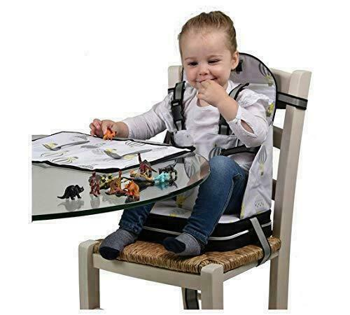 Polar Gear 5 Point Harness Booster Seat Placemat Toddler Feeding NEW
