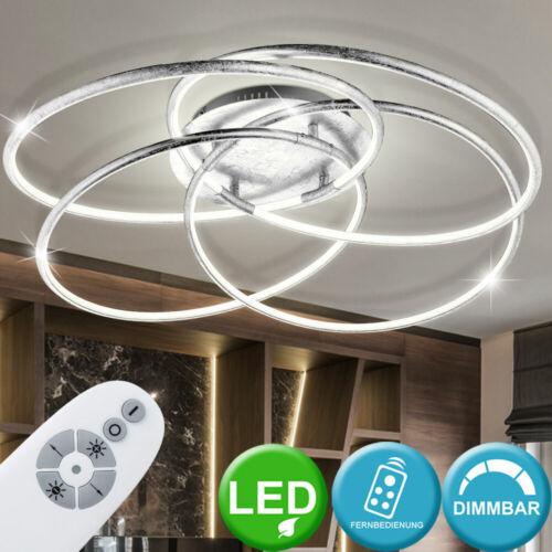 LED Decken Lampe Fernbedienung Tages Licht Leuchte Ringe Beleuchtung dimmbar