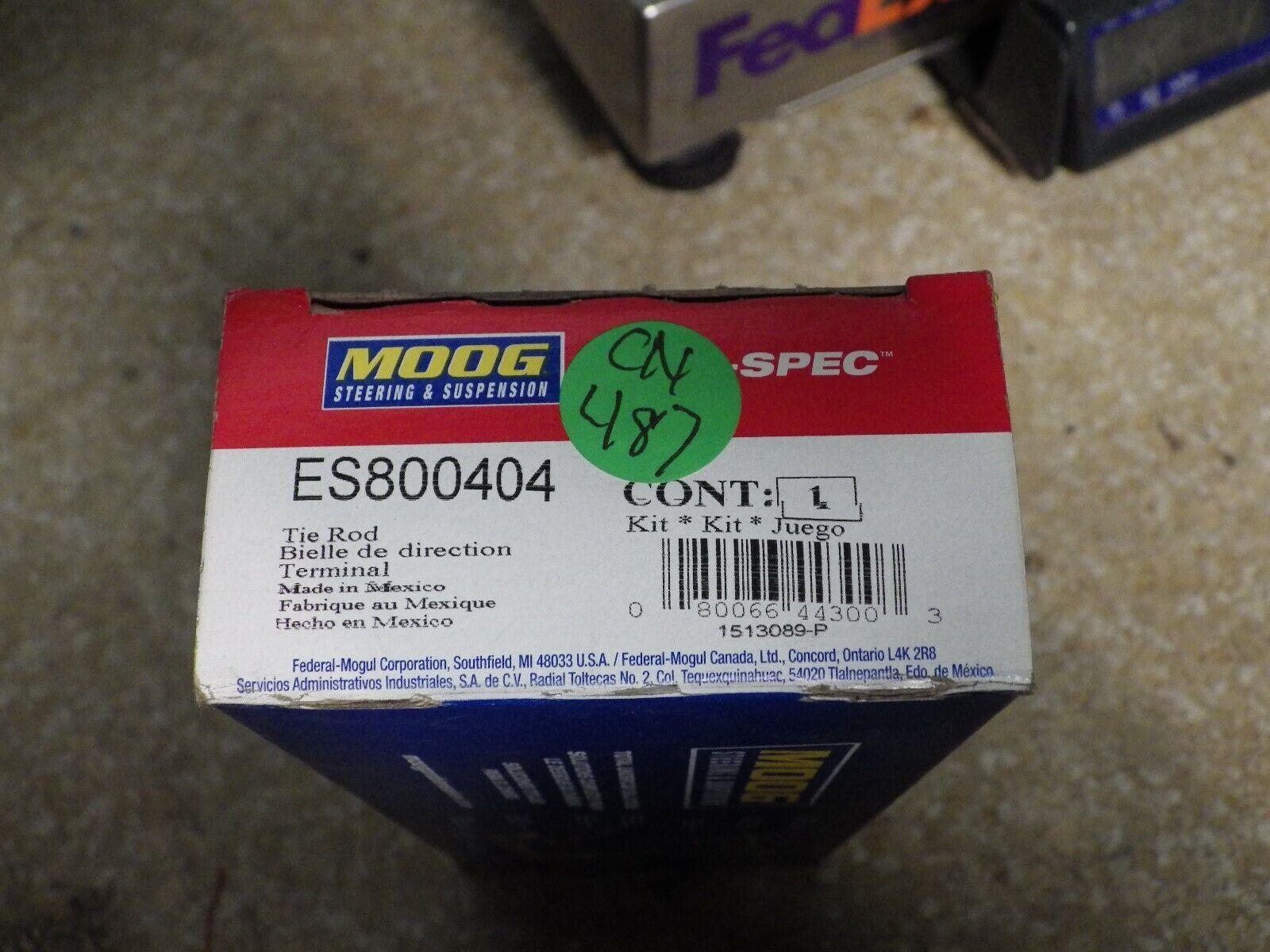 Moog ES800404 Tie Rod End