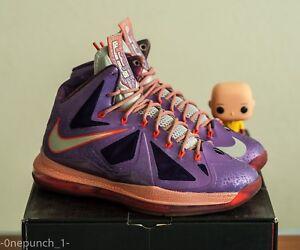 buy popular 71385 ca9eb Image is loading Nike-Lebron-X-039-Area-72-039-ASG-