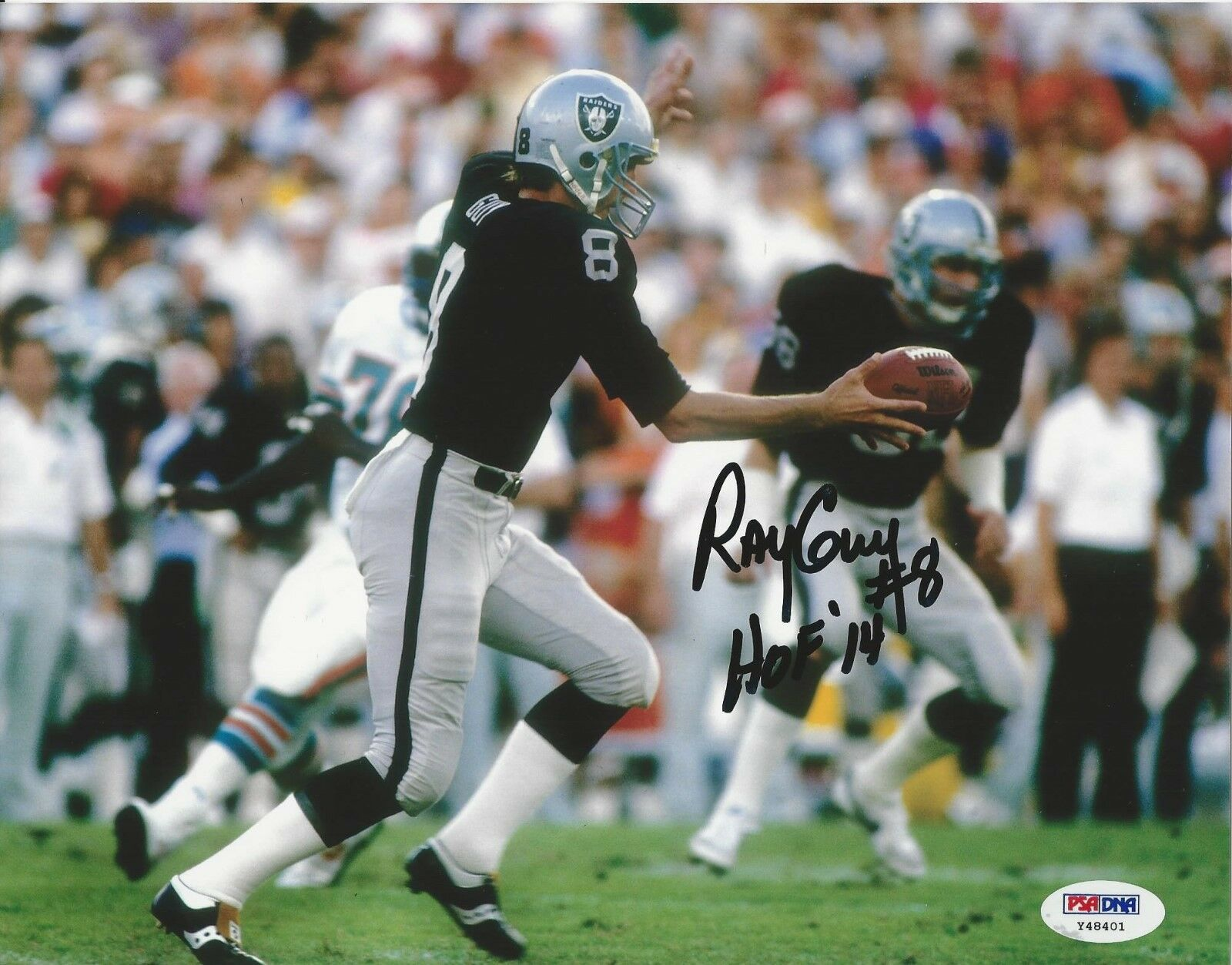 Ray Guy Oakland Raiders signed 8x10 Photo PSA/DNA # Y48401