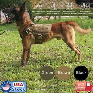 Tactical-Dog-Harness-with-Handle-No-pull-Large-Military-Dog-Vest-US-Working-Dog