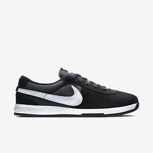Discount Women Nike Lunar Bruin 704425-001 Black Anthracite White For Sale