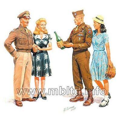 EUROPE 1945 + CIVILIANS WOMEN 4FIG 1/35 MASTER BOX 3514 FREE SHIPPING